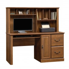 Orchard Hills Comp Desk w/Hutch - Milled Cherry