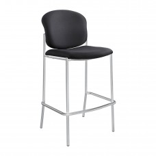 Diaz™ Bistro-Height Chair - Black - Black