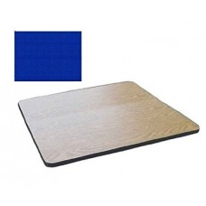 """Bar & Cafe Table Parts-TOP ONLY - 30"""" Square - Blue"""