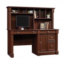 Palladia Computer Desk And Hutch - Select Cherry