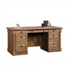 Palladia Executive Desk - Vintage Oak