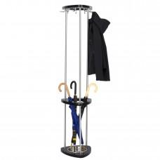Mode™ Wood Coat Rack with Umbrella Rack - Black
