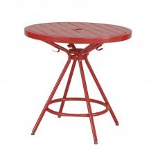 CoGo™ Steel Outdoor/Indoor Table - Red