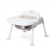 "Secure Sitter™ Premier Feeding Chair 7"", 9"", 11"" & 13"" Seat Height  - White/Tan - N/A"