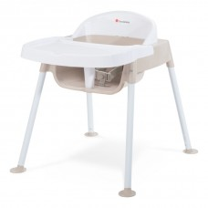 "Secure Sitter™ Feeding Chair 13"" Seat Height  - White/Tan - N/A"