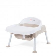 "Secure Sitter™ Feeding Chair 5"" Seat Height  - White/Tan - N/A"