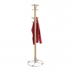 Bamboo Coat Rack - Natural