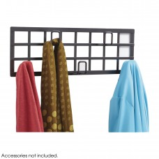 Grid Coat Rack - Black