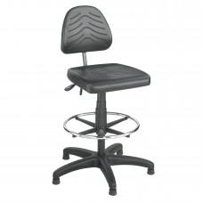 Task Master® Deluxe Workbench Chair - Black