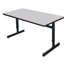 "1 1/8"" Melamine Top Computer/Training Tables - 30x72"" - Gray Granite"