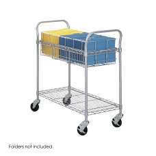 "Wire Mail Cart, 36""W"