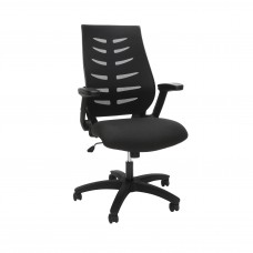 OFM Core Collection Midback Mesh Office Chair for Computer Desk, in Black (530-BLK)