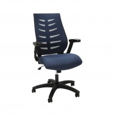 OFM Core Collection Midback Mesh Office Chair for Computer Desk, in Blue (530-BLU)