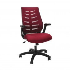 OFM Core Collection Midback Mesh Office Chair for Computer Desk, in Burgundy (530-BURG)