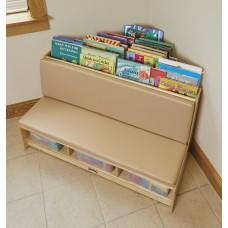 Jonti-Craft® Corner Literacy Nook - Wheat