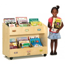 Jonti-Craft® Mobile 6-Section Book Organizer