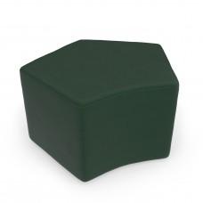Quin Stool, Dark Green