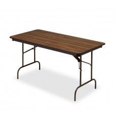 Premium Wood Laminate Folding Table 30x60, Oak