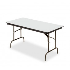 Premium Wood Laminate Folding Table 30x60, Gray