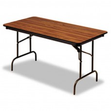 Premium Wood Laminate Folding Table 30x72, Oak