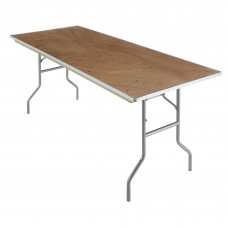 Banquet Plywood Folding Table 30x72