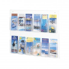 Clear2c™ 12 Pamphlet Display - Clear