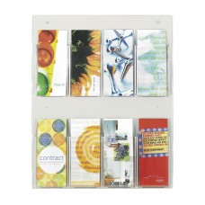 Clear2c™ 8 Pamphlet Display - Clear