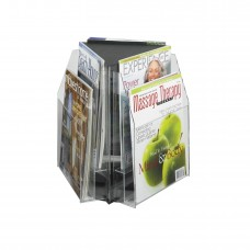 Reveal™ 6 Magazine Tabletop Displays - Clear