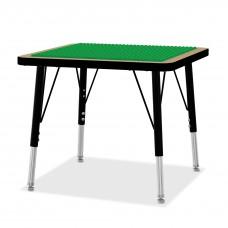"Jonti-Craft® Adjustable Building Table – Preschool Brick Compatible – 15-24""H"