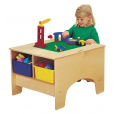 Jonti-Craft® KYDZ Building Table - Lego® Compatible - with Clear Tubs