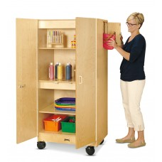 Jonti-Craft® Hideaway Storage Cabinet – Mobile