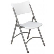 Speckled Grey  Blow Molded Folding Chairs Caron of 4