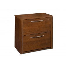 "Embassy 36"" assembled lateral file in Tuscany Brown"