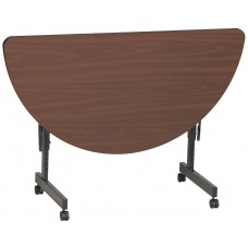 "Econline Flip Top Tables - 24x48"" - Walnut"