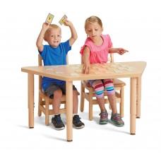 Jonti-Craft® Purpose+ Trapezoid Table