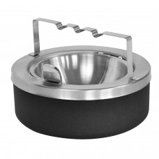 Tabletop Ashtray - Black Texture