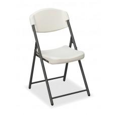4 Pack Economy Folding Chair, Platinum