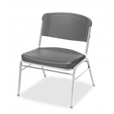 4 Pack Big & Tall Stack Chair, Charcoal