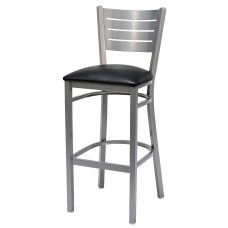 Bistro Metal Stool with padded seat