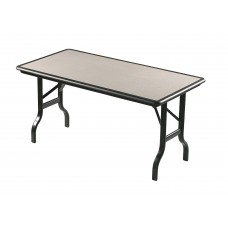 """IndestrucTable Folding Table - Granite - 30"""" x 72"""""""