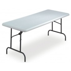 """IndestrucTable TOO Folding Table,1200 Series - Platinum - 30"""" x 72"""""""