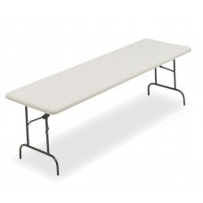 """IndestrucTable TOO Folding Table,1200 Series - Platinum - 30"""" x 96"""""""