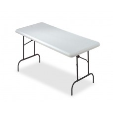 """IndestrucTable TOO Folding Table,600 Series - Platinum - 30"""" x 60"""""""