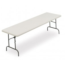 """IndestrucTable TOO Folding Table,600 Series - Platinum - 30"""" x 96"""""""