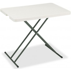 IndestrucTable TOO Folding Table,1200 Series - Platinum - 30x20 Personal Table