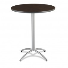 "CaféWorks Bistro Table 36"" Round, Walnut"