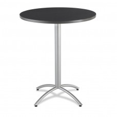 "CaféWorks Bistro Table 36"" Round, Graphite Granite"