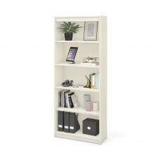 Bestar standard Bookcase in White Chocolate