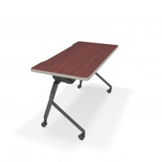 "Mesa Series Nesting Training Table/Desk 23.50"" x 47.25"", Cherry"