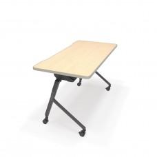 "Mesa Series Nesting Training Table/Desk 23.50"" x 47.25"", Maple"